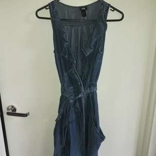 H&M dress Size EU36 denim look