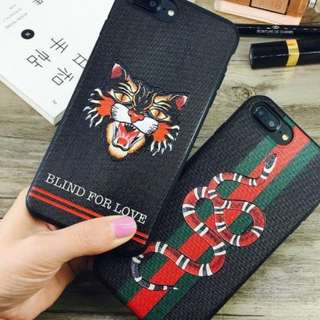 Gucci style iPhone case
