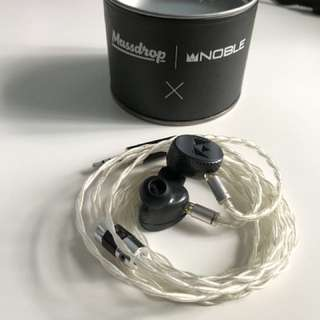 Pure silver 2 pin IEM upgrade cable by infinity Audio