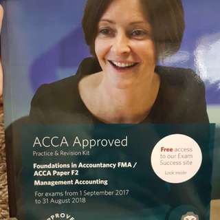 Acca F2 practice & revision kit