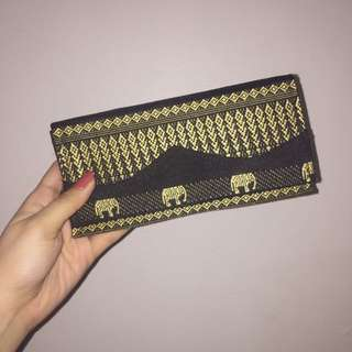 NEW. Wallet. (Handmade in Cambodia)