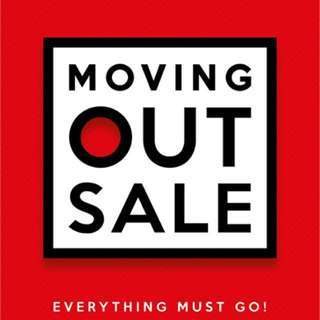 Moving out Sales