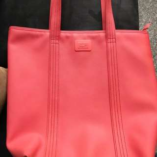 Lacoste 100% Authentic Pink Tote Bag