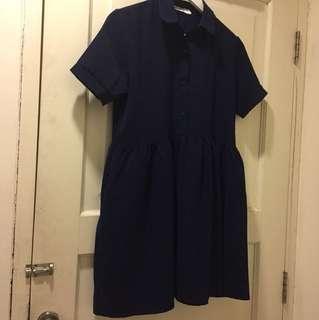 Editors Market short Dress navy