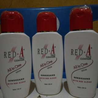 Red A cleanser bengkuang