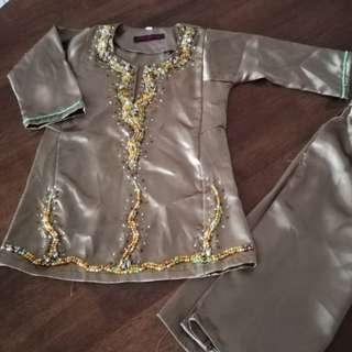 Baju Kurung Budak 1-2y