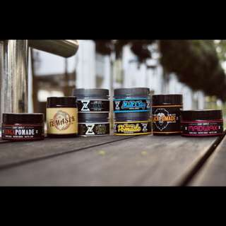 Pomades, Clays, Wax and More!