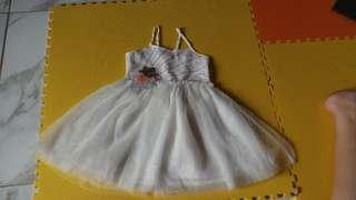 Cotton On kids white dress