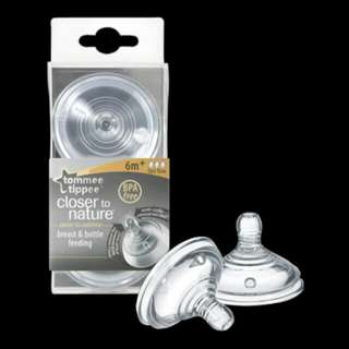 SW Tommee Tippee Closer To Nature Teats