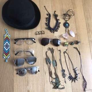 Accessories lot