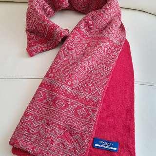 (95%New 超超長! 柔軟!)Burberry Vintage Scarf 頸巾 圍巾