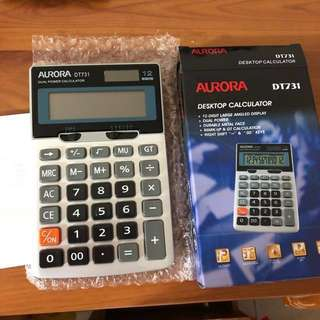 Aurora 12 Digits Desktop Calculator DT731