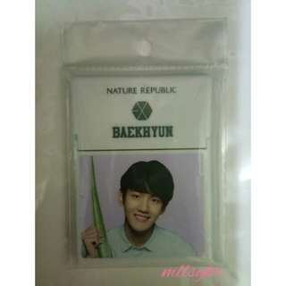 EXO Baekhyun Nature Republic Oil Bloating Paper