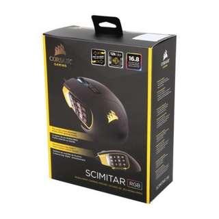Corsair Scimitar RGB Optical MOBA/MMO Gaming Mouse (AP) (CH-9000091-AP)