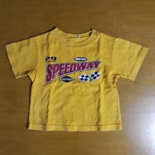 Yellow Racer Design Shirt
