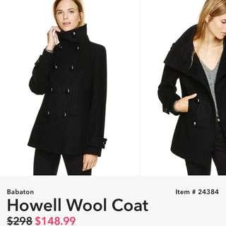 Babaton Howell Wool Coat