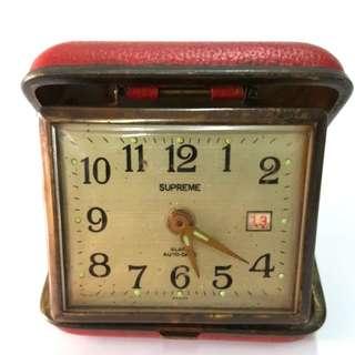 Vintage Supreme alarm clock
