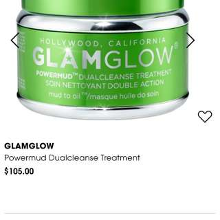 Glam glow power mud mask
