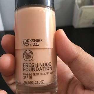 #JYdeal BODY SHOP Fresh Nude Foundation