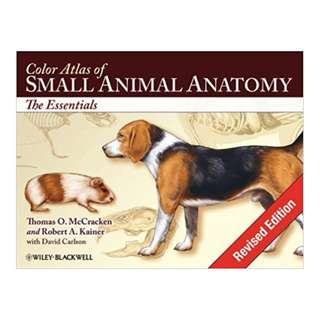 Color Atlas of Small Animal Anatomy: The Essentials BY Thomas O. McCracken (Author), Robert A. Kainer (Author), David Carlson (Contributor)