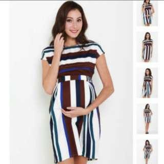 JEC Jumpeatcry Maternity and Nursing Dress