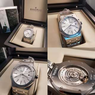 Audemars Piguet Royal Oak White