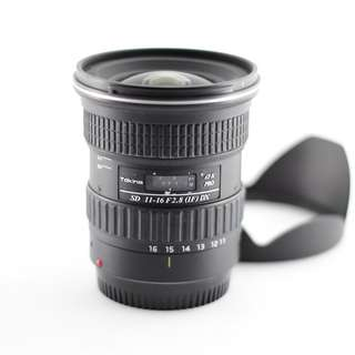 Tokina 11-16MM F2.8 SD IF DX (Canon)