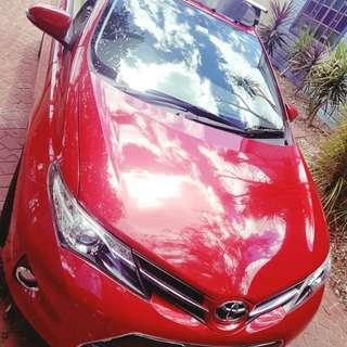 MANUAL 2013 Toyota Corolla Accent Sport