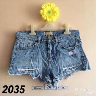 DENIM SHORTS 2035