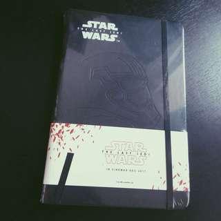 Ltd. Ed. Star Wars Last Jedi Notebook