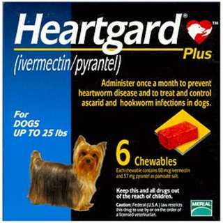 [BNIB] Heartgard Plus For Small Dogs Up to 25 Lbs (Blue)