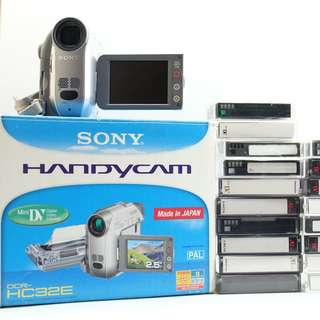 Sony Handycam DCR-HC32E Mini DV Digital Video Cassette