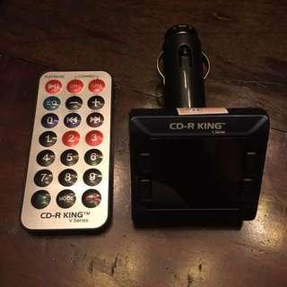CDR-King Bluetooth Modulator w/Remote
