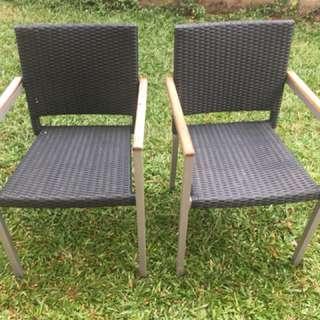 Informa outdoor chairs
