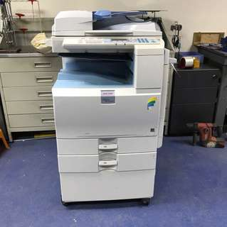 Ricoh color photocopier 彩色影印機