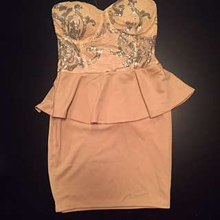 BRAND NEW WITH TAGS BEBE DRESS