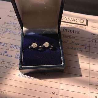 SANACO Diamond Earring