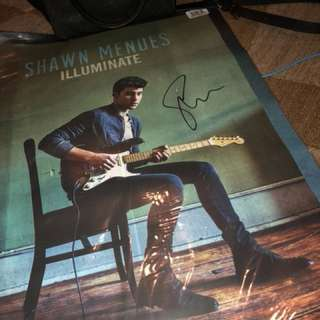 Signed Shawn Mendes Illuminate Poster