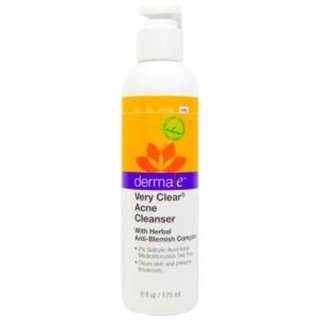 Derma E, Very Clear Acne Cleanser, 6 fl oz (175 ml)