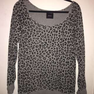 Guess Cheetah Print Sweater
