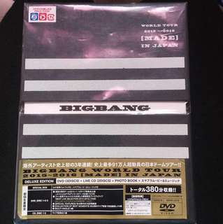 BIG BANG MADE TOUR JAPAN