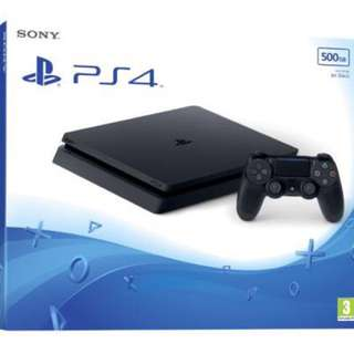 [Pre-owned] Game console PS4 Slim 500gb local set