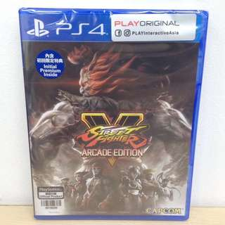 (Brand New) PS4 Street Fighter V: Arcade Edition / R3 (R1 also available)