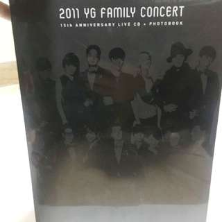 2011 YG Family Concert Live CD &Photobook