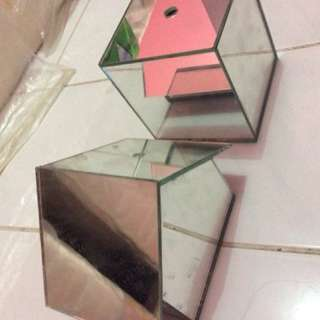 Celengan Kaca Cermin