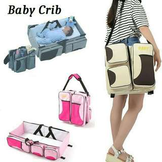 🌸2 in 1 Baby bag and bed