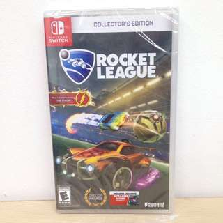 (Brand New) Nintendo Switch Rocket League: Collector's Edition