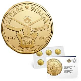 2017 TORONTO MAPLE LEAFS®100TH ANNIVERSARY COIN PACK