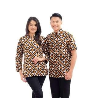 Batik couple sarimbit seragam batik 2018