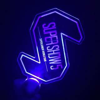 SUPER JUNIOR OFFICIAL SS5 LIGHT SICK